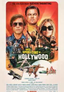 Once Upon a Time in... Hollywood - Quentin Tarantino - Brad Pitt - Leonardo DiCaprio -Films in Amsterdam Centrum – Films Amsterdam tijden – Films Amsterdam nu